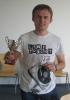 Tomasz i jego puchar zwycięzcy.